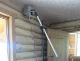 MW equipment for hard-to-reach places for the treatment of woodboring beetles / powderpost beetles, deathwatch beetles and other /